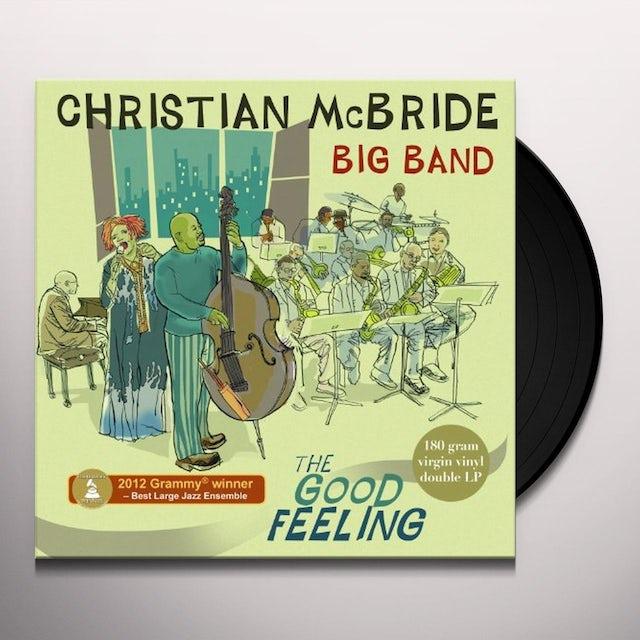 Christian Mcbride GOOD FEELING Vinyl Record
