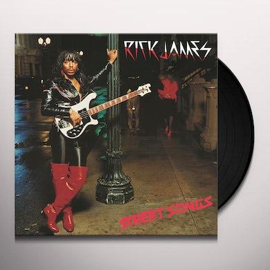 Rick James STREET SONGS Vinyl Record