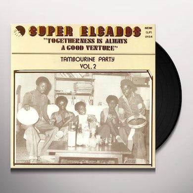 Super Elcados TOGETHERNESS IS ALWAYS A GOOD VENTURE - VOL. 2 Vinyl Record