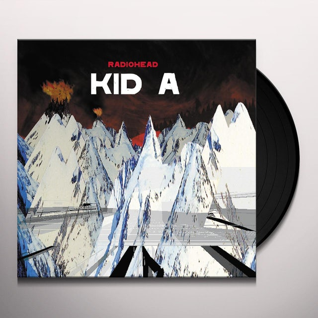 Radiohead KID A Vinyl Record - Limited Edition, 180 Gram Pressing