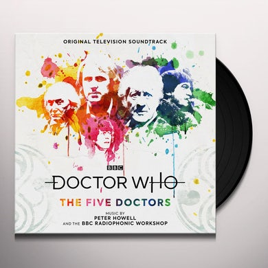 Peter Howell DOCTOR WHO: THE FIVE DOCTORS (ORIGINAL SOUNDTRACK) Vinyl Record