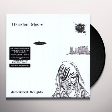 Thurston Moore DEMOLISHED THOUGHTS Vinyl Record