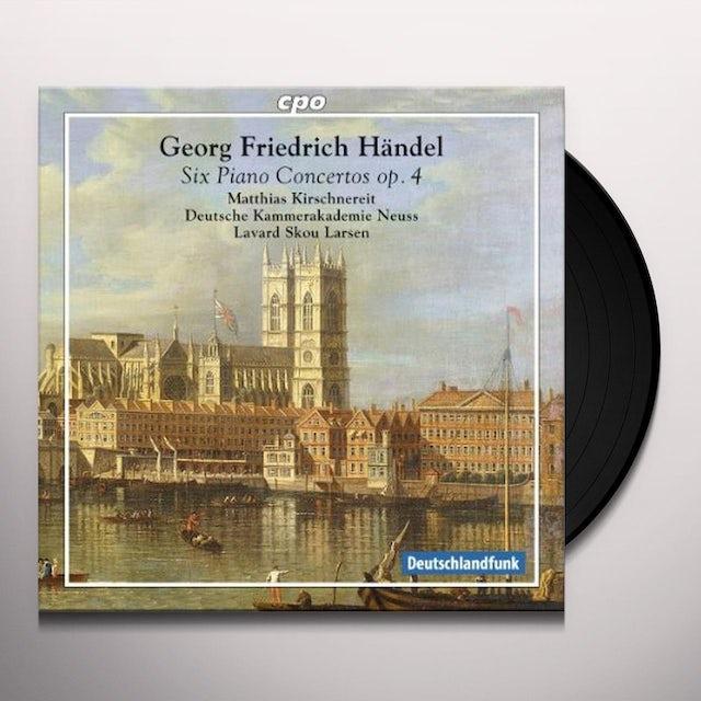 Handel / Deutsche Kammerakademie Neuss Am Rhein PIANO CONCERTOS OP. 4 Vinyl Record