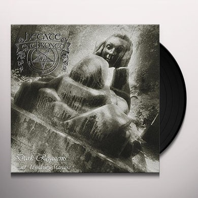 Hecate Enthroned DARK REQUIEMS & UNSILENT MASSACRE Vinyl Record