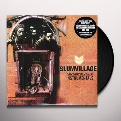 Slum Village FANTASTIC: INSTRUMENTALS 2 Vinyl Record