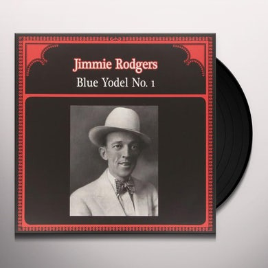 Jimmie Rodgers BLUE YODEL NO. 1 Vinyl Record - Italy Release