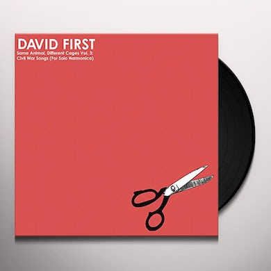 David First SAME ANIMAL DIFFERENT CAGES VOL.3: CIVIL WAR SONGS Vinyl Record