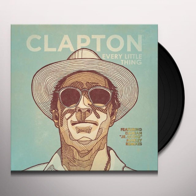 Eric Clapton EVERY LITTLE THING Vinyl Record