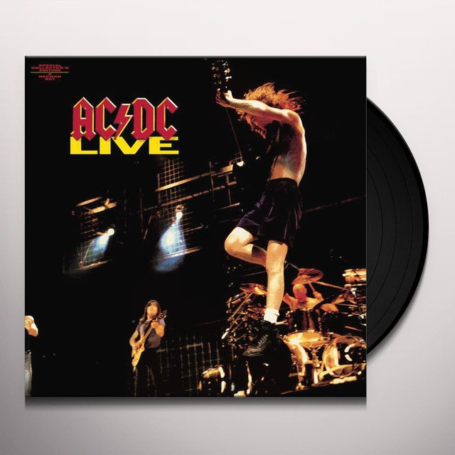 AC/DC LIVE Vinyl Record