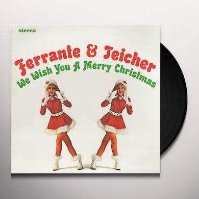 Ferrante & Teicher WE WISH YOU A MERRY CHRISTMAS Vinyl Record