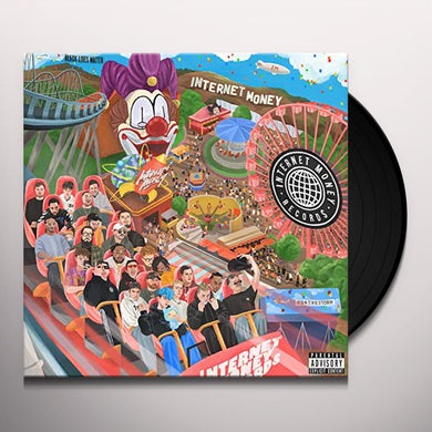 Internet Money B4 The Storm (2 LP) (Clear) Vinyl Record