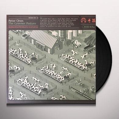 Peter Oren GREENER PASTURE (COLOR VINYL) Vinyl Record