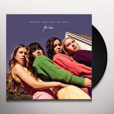 The Aces WHEN MY HEART FELT VOLCANIC Vinyl Record