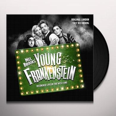 YOUNG FRANKENSTEIN ORIGINAL LONDON CAST RECORDING Vinyl Record