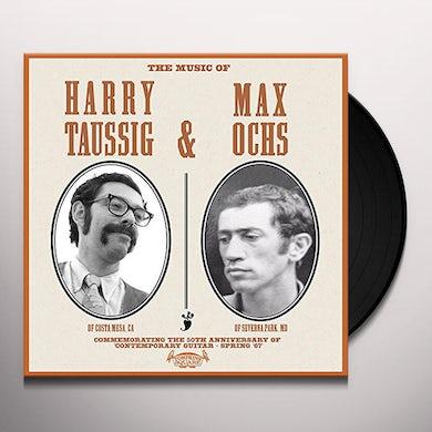 MUSIC OF HARRY TAUSSIG & MAX OCHS Vinyl Record