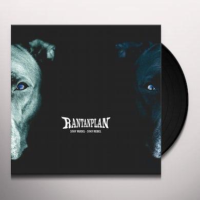 STAY RUDEL - STAY REBEL Vinyl Record
