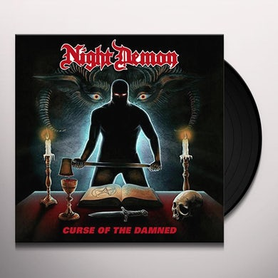 NIGHT DEMON CURSE OF THE DAMNED Vinyl Record