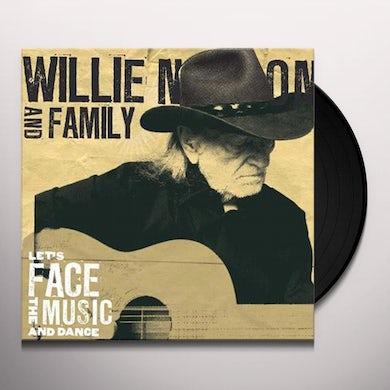 Willie Nelson LET'S FACE THE MUSIC & DANCE Vinyl Record