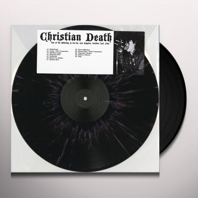 Christian Death LIVE AT THE WHISKY A GO GO LOS ANGELES OCTOBER 31 Vinyl Record