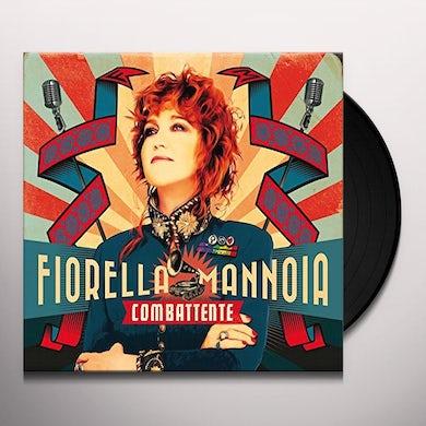 Fiorella Mannoia COMBATTENTE Vinyl Record
