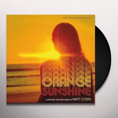 Matt Costa ORANGE SUNSHINE / Original Soundtrack Vinyl Record