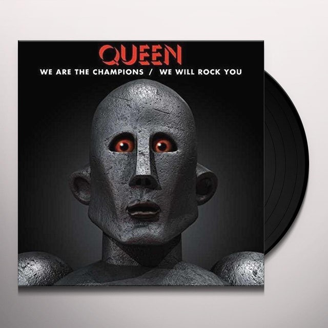 Queen WE ARE THE CHAMPIONS Vinyl Record