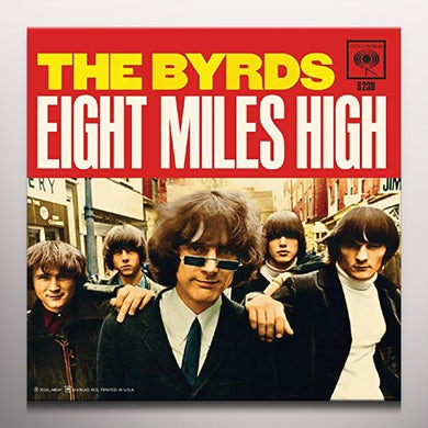 The Byrds EIGHT MILES HIGH / WHY - Limited Edition Blue Colored Vinyl Record