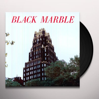 Black Marble WEIGHT AGAINST THE DOOR Vinyl Record