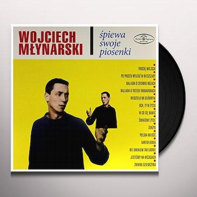 WOJCIECH MLYNARSKI SPIEWA SWOJE PIOSENKI Vinyl Record