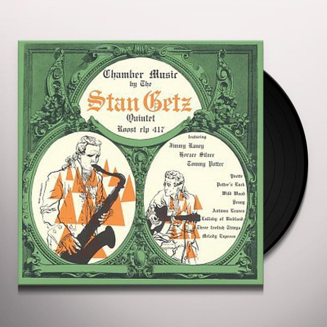 Stan Getz SPLIT KICK Vinyl Record