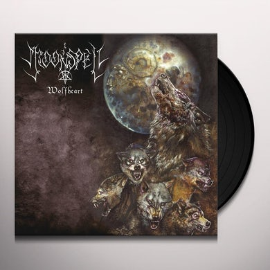 Moonspell WOLFHEART - Limited Edition Colored Double Vinyl Record