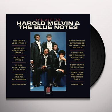 BEST OF HAROLD MELVIN & THE BLUE NOTES Vinyl Record