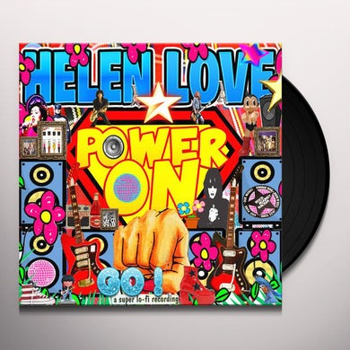 Helen Love POWER ON Vinyl Record