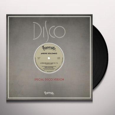 Andre Solomko PREMIER DISCO SANS TOI Vinyl Record