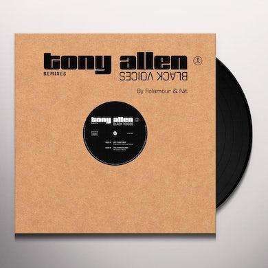 Tony Allen BLACK VOICES REMIXES Vinyl Record
