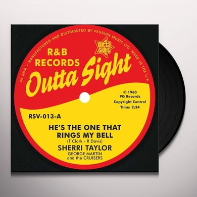 Sherri/Jo Ann Henderson Taylor HE'S THE ONE THAT RINGS MY BELL/BABY PLEASE DON'T Vinyl Record
