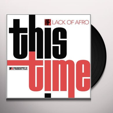 Lack Of Afro THIS TIME Vinyl Record