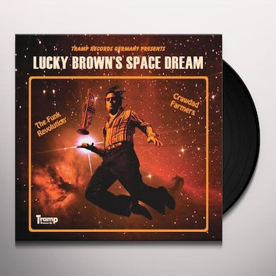 LUCKY BROWN'S SPACE DREAM Vinyl Record - Limited Edition