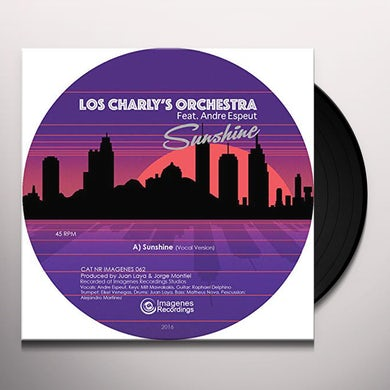 Los Charly's Orchestra SUNSHINE Vinyl Record