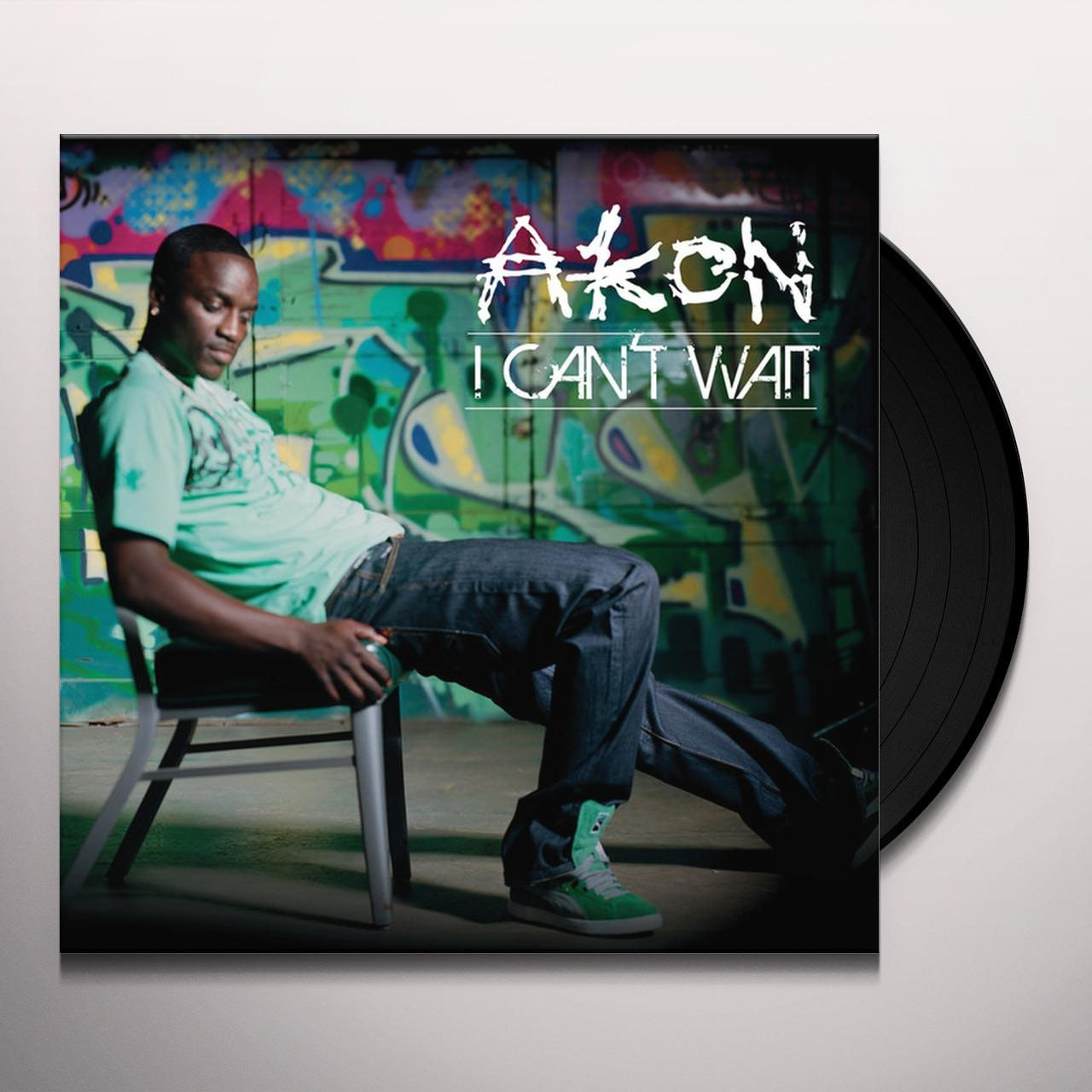 Akon I CAN'T WAIT (X2) Vinyl Record