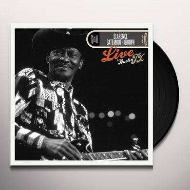 Clarence Gatemouth Brown LIVE FROM AUSTIN, TX Vinyl Record