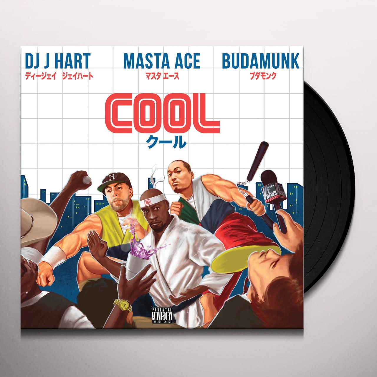 Dj J Hart / Masta Ace / Budamunk COOL / TRINITY Vinyl Record