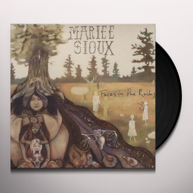 Mariee Sioux FACES IN THE ROCKS Vinyl Record