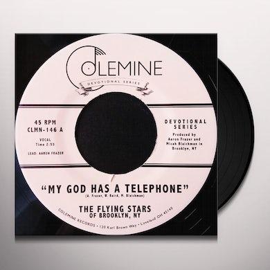 Flying Stars Of Brooklyn Ny MY GOD HAS A TELEPHONE / LIVE ON Vinyl Record