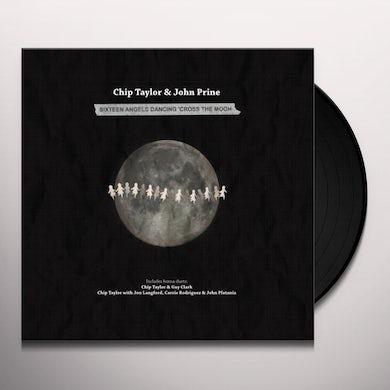 John Prine 16 ANGELS DANCING CROSS THE MOON Vinyl Record