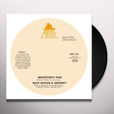 WHATEVER'S FAIR / SIMPLE THINGS Vinyl Record