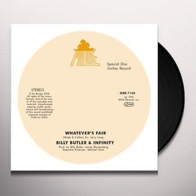 WHATEVER'S FAIR / SIMPLE THINGS Vinyl Record