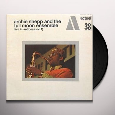Archie Shepp LIVE IN ANTIBES 1 Vinyl Record
