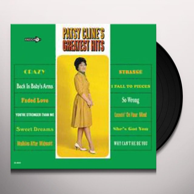 Patsy Cline GREATEST HITS Vinyl Record