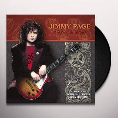 Jimmy Page Playin' Up a Storm Vinyl Record